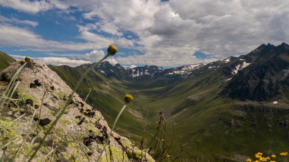 Háromezres csúcsok a Kackar hegységben