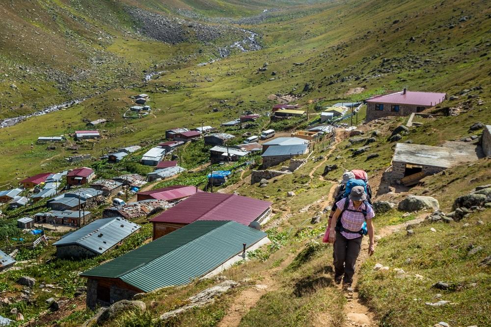 Kackar hegység trekking Törökország 2