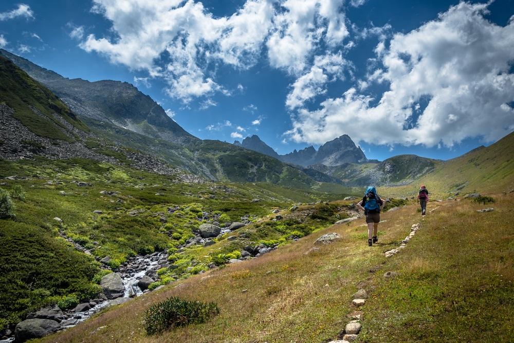 Kackar hegység trekking Törökország