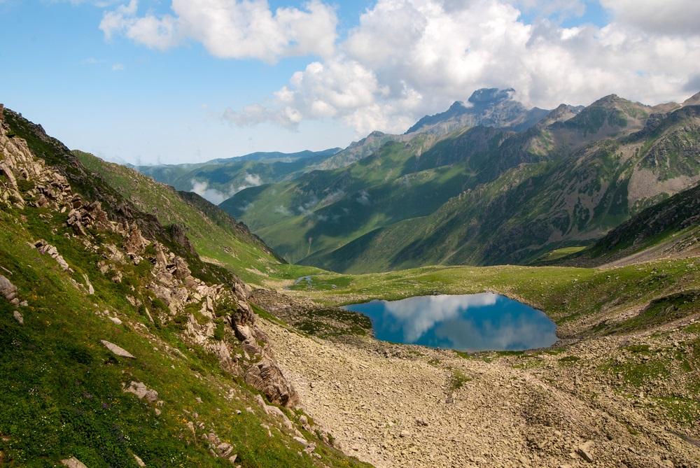 Kackar hegység trekking túra Törökország