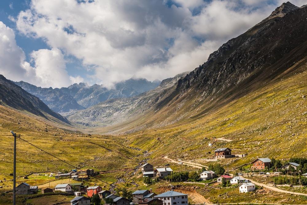 Rize Fekete tenger Törökország Kackar hegység kalandtúra
