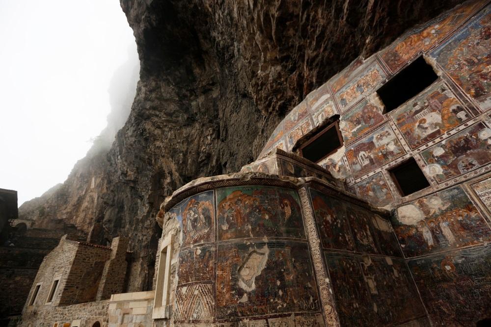 Sümela kolostor Trabzon Törökország
