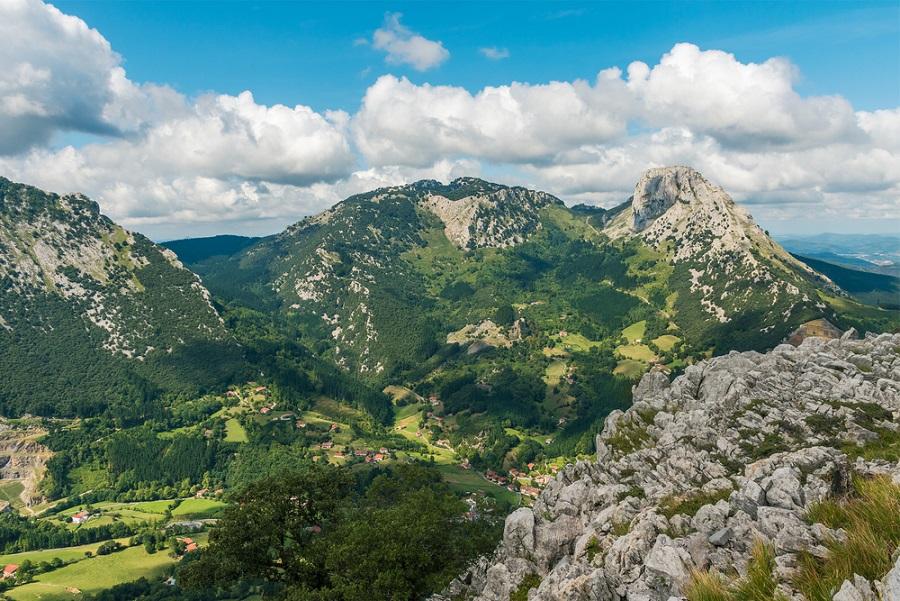 Urkiola Nemzeti Park túra spanyol kalandutazás
