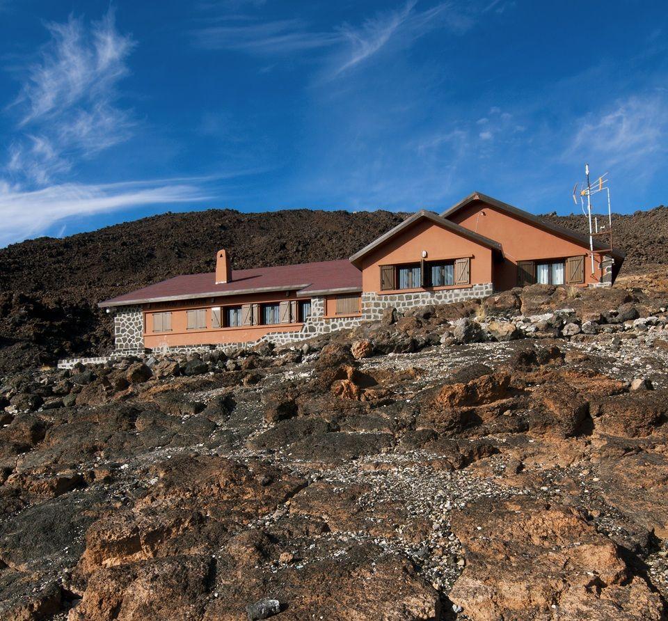 Menedékház a Teidén