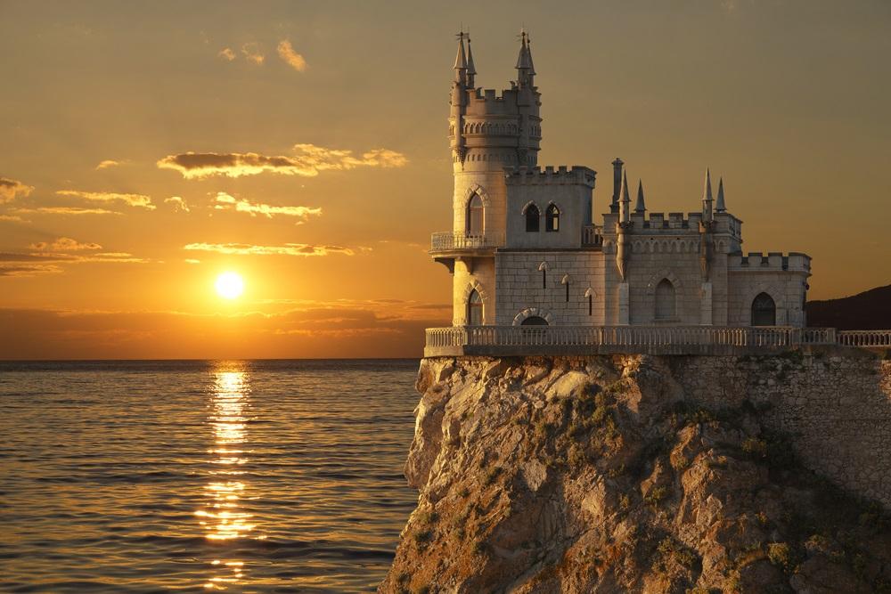 Jalta Krím Fecskefészek