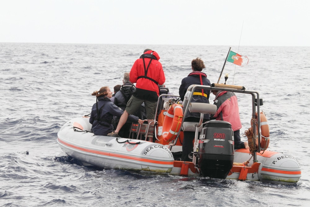 Azori szigetek bálnales Sao Miguel csoportos kalandutazás