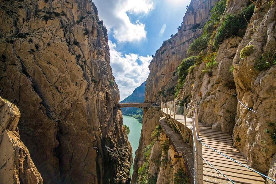 Caminito del Rey Andalúzia csoportos kalandtúra
