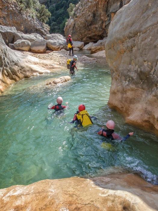 Canyoning kalandtúra Andalúzia Spanyolország 1