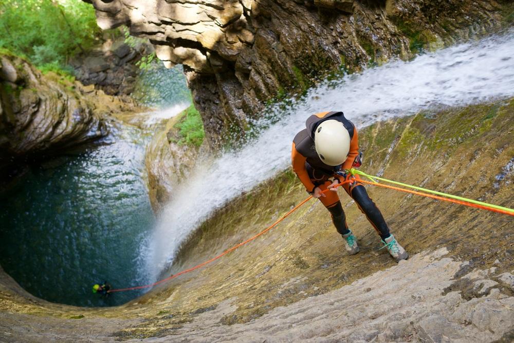Canyoning kalandtúra Andalúzia Spanyolország