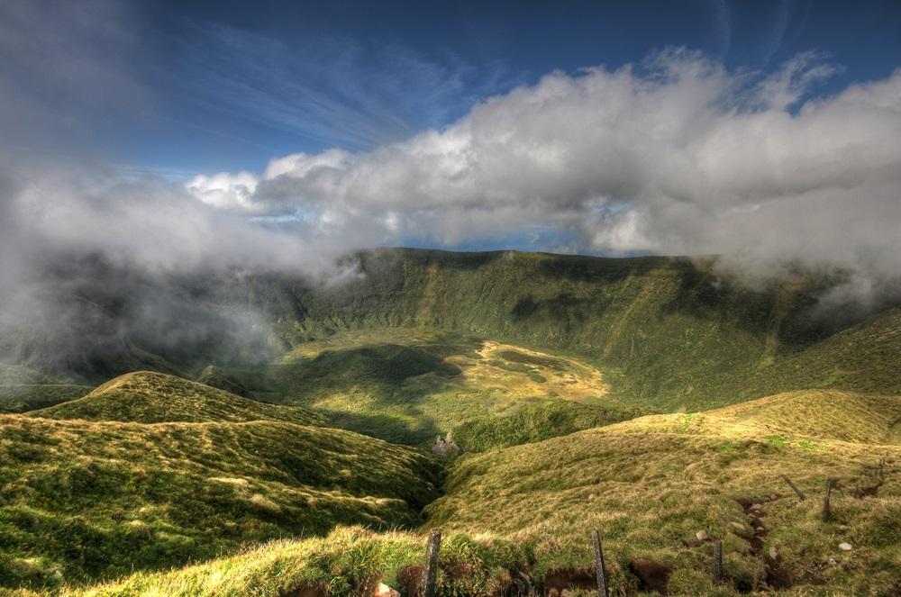 Faial Caldeira kalandtúra Azori szigetek csoportos utazás