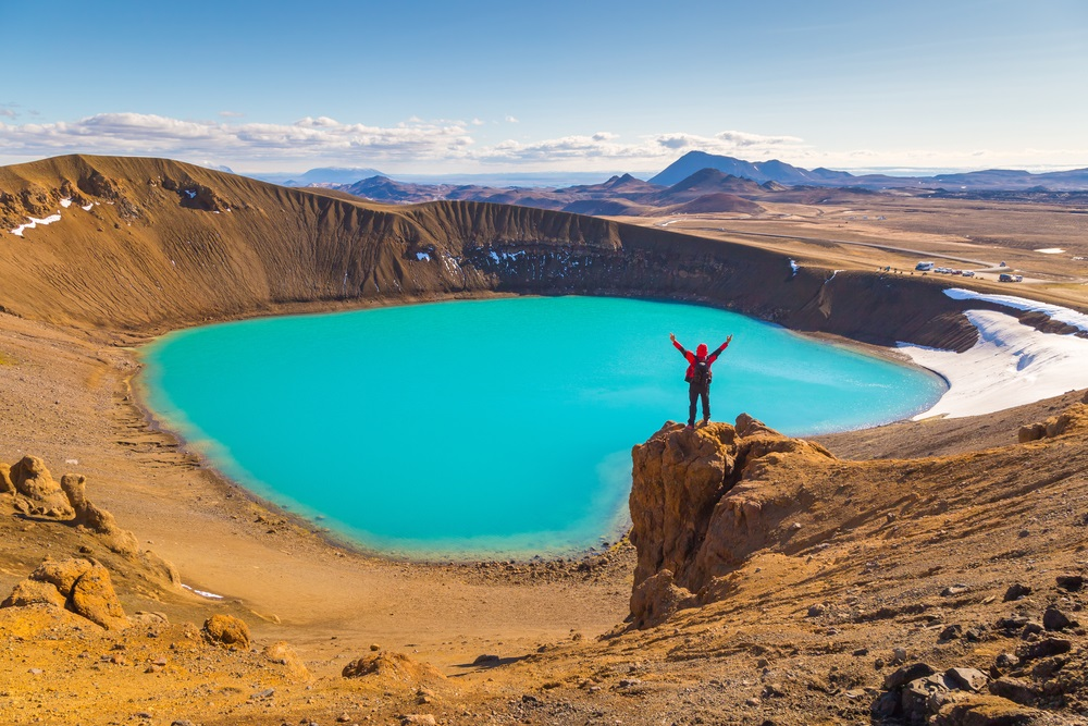 Krafla vulkántúra Izlandon csoportos kalandutazás csoporttal