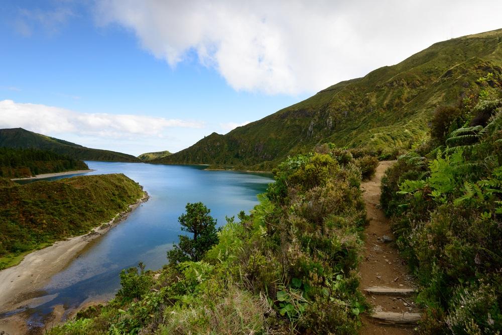 Lagoa do Fogo Azori szigetek kalandtúra csoportos utazás