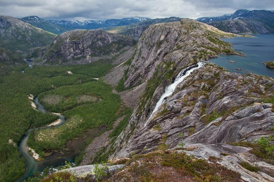Rago Nemzeti Park trekking túra Norvégia