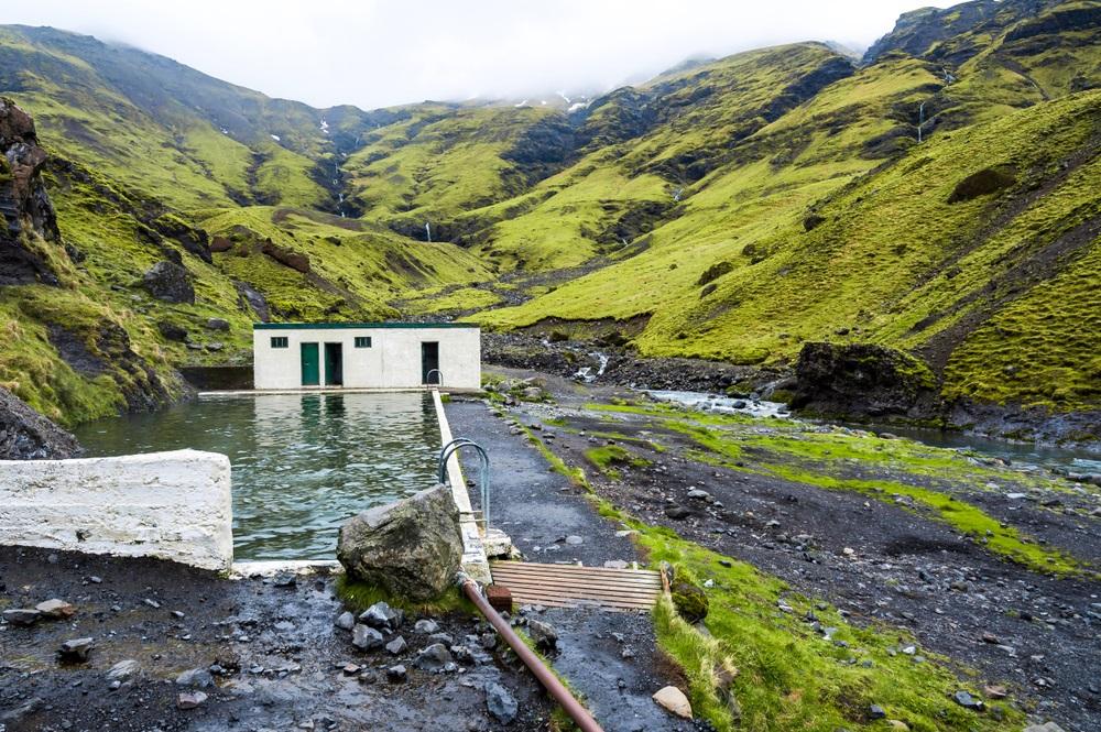 Seljavallalaug termálfürdő izlandon