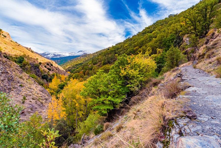 Sierra Nevada Spanyolország Andalúzia kalandtúra