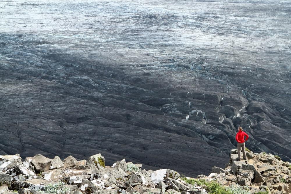 Sjónarnípa gleccser kilátó túra izlandon