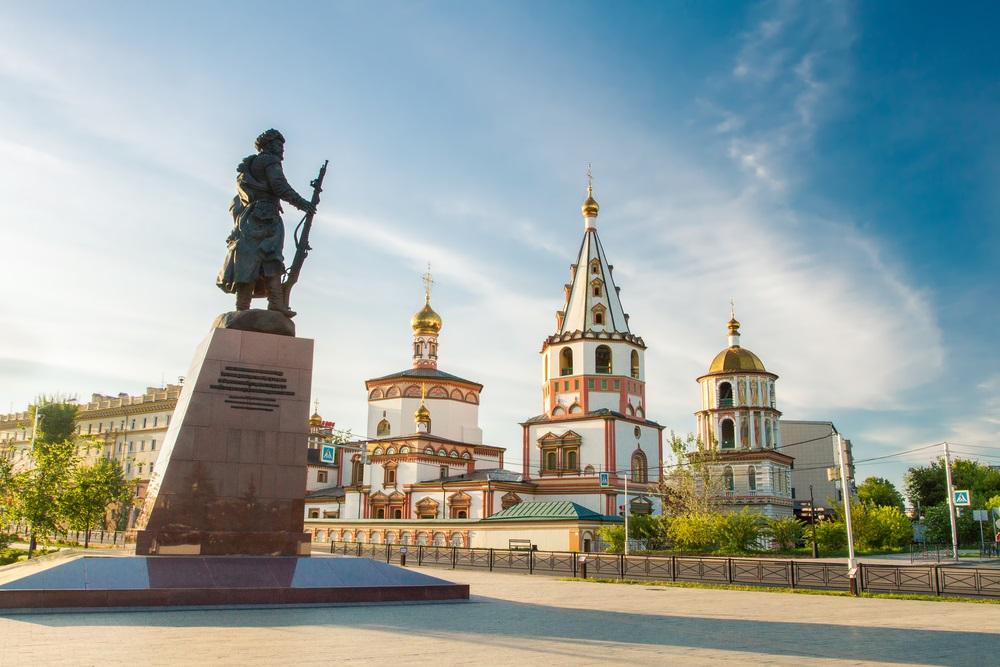 Transszibériai Expressz Irkutszk Oroszország