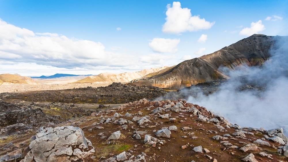 Haskerdingur - Hrafntinnusker - Landmannalaugar trekking Izland jég és tűz gyalogtúra