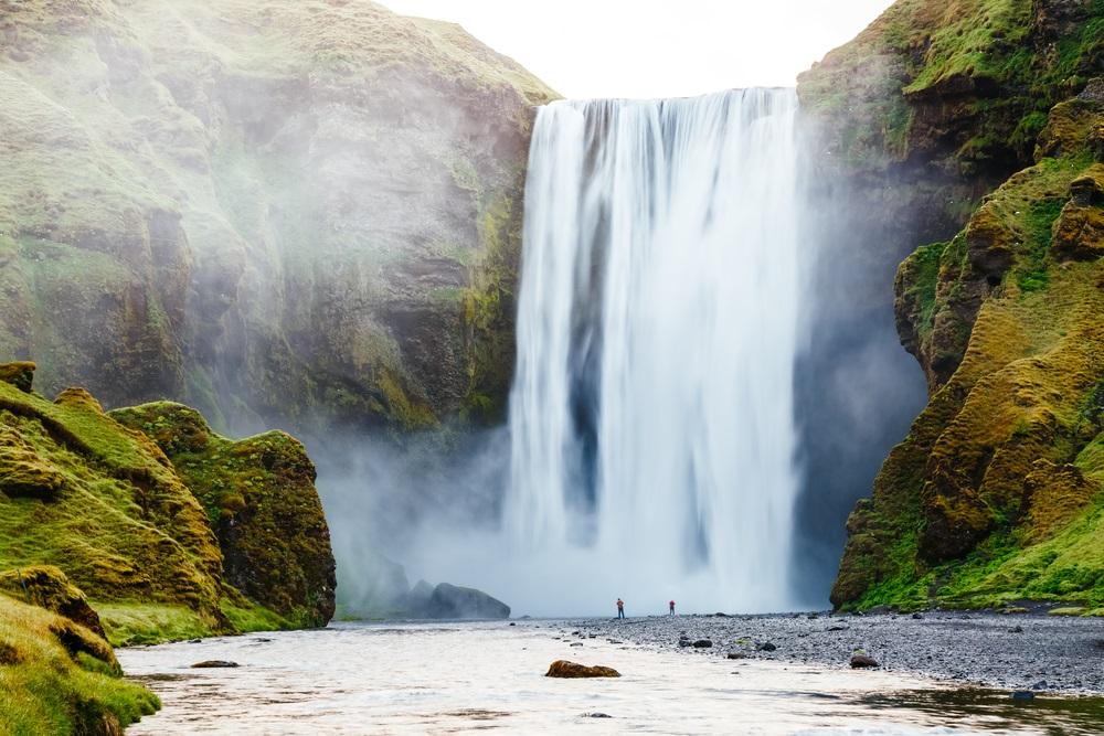 Skogafoss vízesés Izland