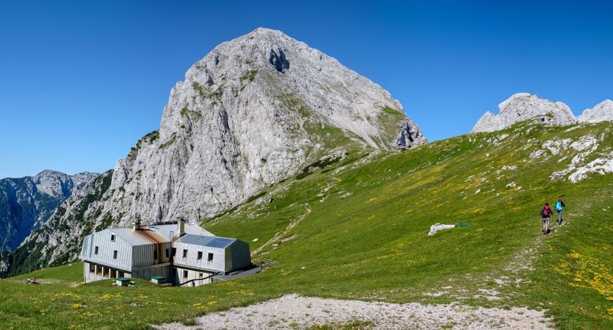 Brana Kamniki Alpok Szlovénia kalandtúra ferrata kletter