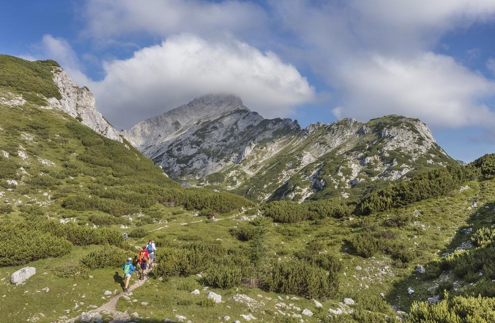 Kamnik Szlovénia Alpok túra ferrata kletter kaland