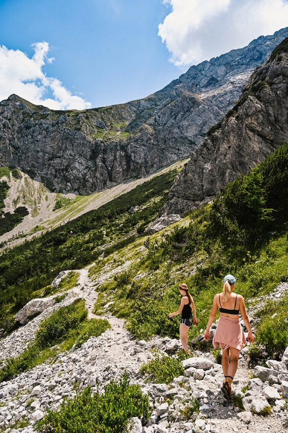 Kamniki Alpok Szlovénia túra ferrata kaland